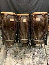 Tycoon Percussion Master Handcrafted Pinstripe Series Conga Set