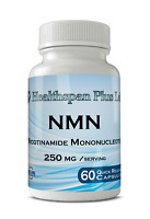 NMN Supplement, Nicotinamide Mononucleotide, Real NMN, NAD,60 count 250mg/serv