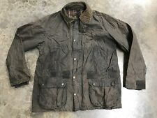 Wax Barbour Jacket Small Blue Bedale