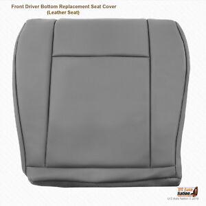 2009 2010 2011 Ford E150 E250 Van Driver Side Bottom Vinyl Seat Cover Color GRAY