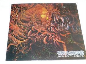Carnage – Dark Recollections Vinyl LP Earache Necrosis Records 1990 Death Metal