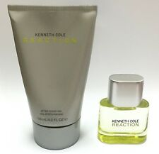 Reaction Kenneth Cole Men 4.2 oz 125 ml *After Shave Gel* + 0.5 oz Edt Spray New
