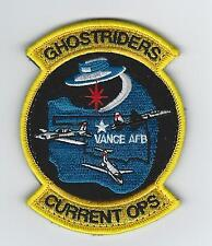 """71st OSS """"GHOSTRIDERS-CURRENT OPS"""" patch"""