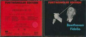 Furtwangler Edition - Beethoven Fidelio Op. 72 - 2 CD Set - Italy Import 1989