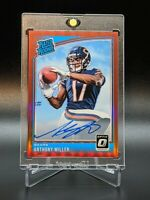 2018 Donruss Optic Anthony Miller Rookie Auto Red Prizm #d 11/50 Chicago Bears