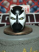 MARVEL LEGENDS CUSTOM PAINTED/FITTED COMIC SPAWN 1:12 HEAD FOR 6IN FIGURE