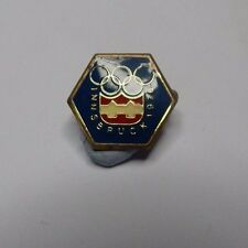 Innsbruck winter Olympic Games 1976 Badge