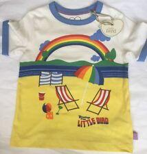 b9b059a4 Little Bird By Jools Oliver Beach Scene T Shirt / Top 9-12 Months