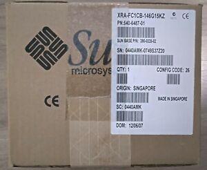 New 540-6487 XRA-FC1CB-146G15KZ 15000 RPM FC AL Disk Sun / Oracle