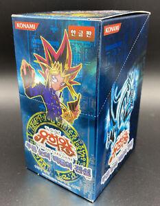 YuGiOh Legend of Blue Eyes White Dragon LOB-K Display Booster Box Korean