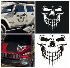 Truck Sticker Black Skull Car Hood Decal Vinyl Large Graphic SUV Tailgate Window