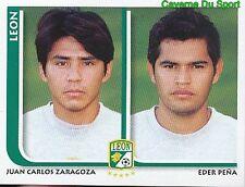 289 CARLOS ZARAGOZA / EDER PENA CF.LEON MEXICO STICKER SUPERFUTBOL 2009 PANINI