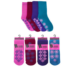 Ladies RJM Thermal Slipper Socks Size UK 4-7 32041