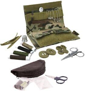 KombatUK Small Cadet Army Military Uniform Repair Full Emergency Sewing Kit Set