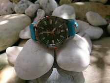 LE MANS GULF STRAP 22MM FOR VOSTOK EUROPE ALMAZ
