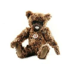 "STEIFF ""WOODY TEDDY BEAR"" EAN 035777 BROWN TIPPED MOHAIR  ANTIQUE STYLE FOR 2012"