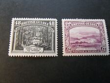 British Guiana  1934   KGV   48c & 72c  Lmm   Stamps   as per  pictures
