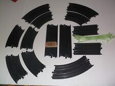 tyco slot car track parts lot, ho 1/64 scale, in nice condition