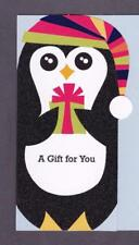 Christmas Greeting Card MONEY HOLDER, A Gift For You