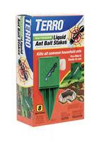 TERRO Outdoor Liquid Ant Killer (8 Bait Stakes)