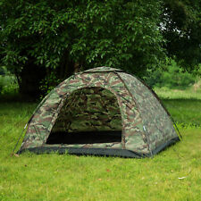 3-4 Person Outdoor Camping Waterproof 4 Season Family Tent Camouflage Hiking