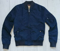 "Alpha Industries Bomber ""S"" Jacket Navy Mens Jacke"