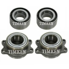 NEW Front and Rear Wheel Bearing Assembly Kit Timken For Baja Legacy Outback AWD