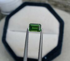 Green Chrome Diopside Emerald Loose Faceted Natural Gem 6x4mm