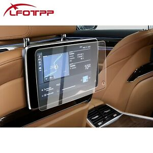 LFOTPP Car Rear Seat TV Screen Protector Tempered Glass Film For BMW 5 7 Series