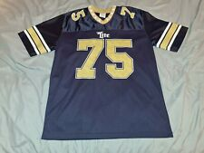 Miller Lite Beer #75 Blue And Gold Football Jersey Large
