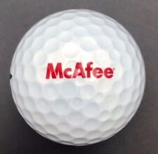 McAfee Soft Bank Technology Dual Logo Golf Ball (1) Tour Stage X-01G4  PreOwned