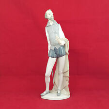 More details for lladro nao figurine - don quixote reading a book (missing book) - 0143 l/n