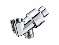 Universal shower head adjustable brass connector Bracket Holder Bathroom