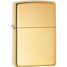 Zippo 169 high polish brass armor full size Lighter