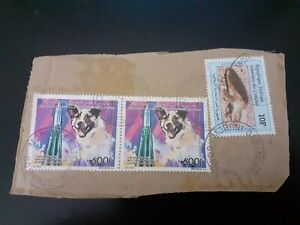 COMORES KOMOREN COMOROS timbres sur fragments tortue 1995