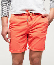 New Mens Superdry Sunscorched Short Hyper Coral