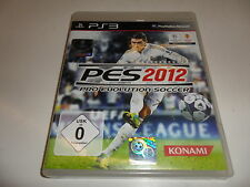 PLAYSTATION 3 PS 3 PES 2012-Pro Evolution Soccer