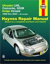 Haynes CHRYSLER 300M (98-04) SPECIAL BASE Owners Service Repair Manual Handbook