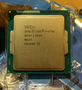 Intel Core i7 4770K Quad 3.5GHz LGA1150 Unlocked SR147 Boxed with HSF