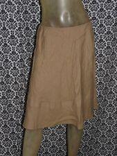United Colors Of Benetton Beige Tiered Aline Skirt Womens MEDIUM USED