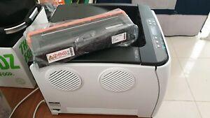 Ricoh sp c250dn A4 Laser COLOUR Printer + NEW Black Toner +existing color toners