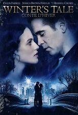 NEW DVD // WINTERS TALE // Colin Farrell, Jessica Brown Findlay, William Hurt, R