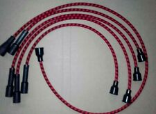 FORD ESCORT RS 2000 MK1 PINTO OHC BRAIDED COPPER CORE HT LEADS