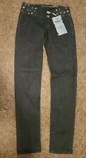 Cielousa Skinny Jeans Size 3 26 Dark Blue With Bling