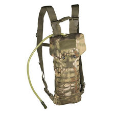 Mil-Tec Army Style Laser Cut Hydration Pack 2 5 Litre Hiking Airsoft 145430 MANDRA Woodland
