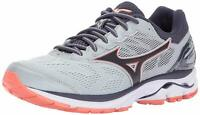 MIZUNO WAVE RIDER 21 WOMEN'S RUNNING SHOES HIGH RISE/GRAY STONE