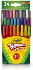 Crayola Twistables Crayons Coloring Set,Kids Indoor Activities at Home, 24 Cou 00004000 nt