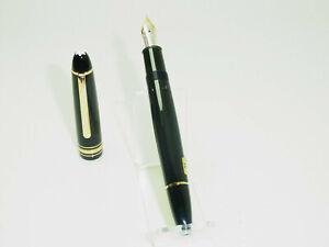 NOS 1990´s MONTBLANC 146 Pistonfiller Fountain Pen 14ct M Nib