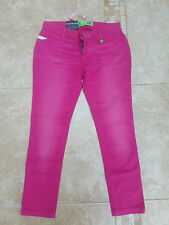 Womens Gio-Goi Pink Jeans, Pink Jeans, New With Tags, Size UK 30R