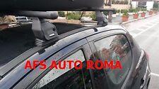BARRE PORTATUTTO ACCIAIO PEUGEOT 207 BERLINA ANNO 2008 OMOLOGATE E MADE IN ITALY